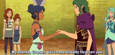 """""""I have already forgiven you"""" - GIF by zamasu - Rosalyn & Cronan - Lego Friends Elves, School For Good And Evil, Elf Me, Funny Marvel Memes, My Only Love, Fantasy World, Legos, Fangirl, Disney Characters"""