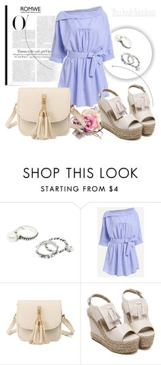 """""""ROMWE 8/7"""" by melissa995 ❤ liked on Polyvore featuring Vanity Fair"""