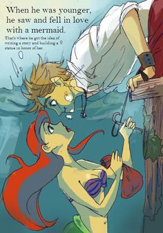 Denmark and Ariel. This is my favourite. I ship it. I need to go make fanart. :D