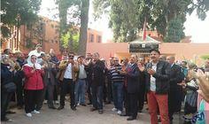 نساء ورجال التعليم يحتجون ضد العنف في مراكش: احتشد رجال التعليم، أمس الأربعاء، أمام المديرية الإقليمية لوزارة التربية والتكوين المهني…