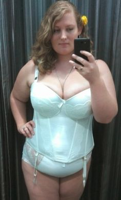 Just thought I would show off my wedding lingerie before the big day in April 2013 before I'm Mrs Smith wedding lingerie Satin Lingerie, Wedding Lingerie, Sexy Lingerie, Sexy Curves, Curvy, Beautiful Women, Plus Size, Skinny, Lady