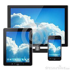 Alles wordt één: bellen en computeren op de tv, tv kijken en computeren op het mobieltje, tv kijken en bellen met de computer --> integratie van media.