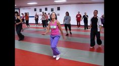 Zumba 1 Hour Class - 2011 October by Don Johnson. At home or on the road, for Fun & Fitness, Dance with Kardio Kim!