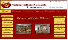 Best practices in school library website