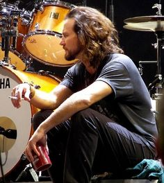 Eddie Vedder taking a break