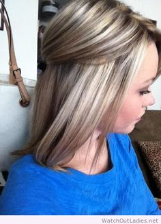 Highlights and lowlights, wish I could go this blonde