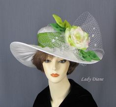 Millinery, Derby Hats, Fashion Hats - Lady Diane Hats