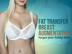 Sometimes women look emptier due to their flabby breast size. #Fat_transfer_breast_augmentation procedure helps to reshape their breast.