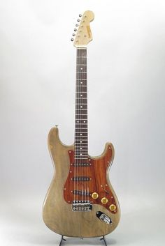 Tone Garage FWC-220ST Used Electric Guitar Natural Free shipping EMS #ToneGarage