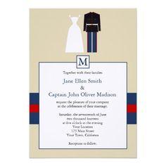 marine wedding invitations | Marine Wedding Invitation from Zazzle.com
