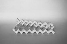 Lego sculpture - waves