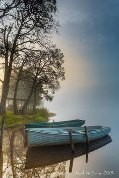 Achray Boats by Karl Williams on 500px