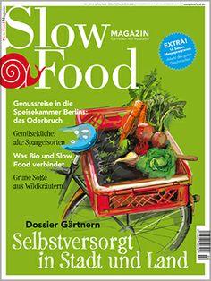 Das neue Slow Food Magazin - wie immer sehr interessant!