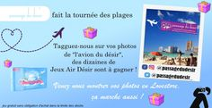 Tournée des plages avec l'avion Passage du Désir !