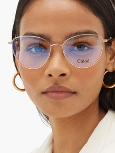 Glasses For Oval Faces, Glasses Frames Trendy, New Glasses, Cat Eye Glasses, Stylish Glasses For Women, Glasses Trends, Lunette Style, Fashion Eye Glasses, Optical Glasses