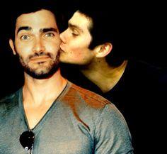 Hobrien kiss :)