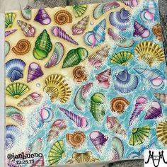 Lost Ocean - Sete Mares - Océano Perdido - Johanna Basford - {INSPIRATION}