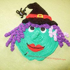 CrochetCraftMania: crochet potholders / oven mitts