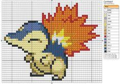 155 - Cyndaquil by Makibird-Stitching.deviantart.com on @deviantART
