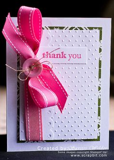 Thank You theme DIY Homemade Cards Collection for Everyone: - Wedding Card Templates, Wedding Cards, Cool Cards, Diy Cards, Envelopes, Embossed Cards, Card Tags, Creative Cards, Greeting Cards Handmade