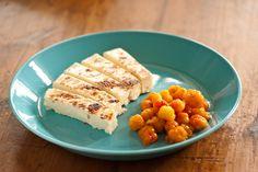"""""""Leipäjuusto ja lakkahillo"""" squeaky cheese and cloudberry jam, yummy"""