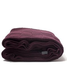 Basket Weave Large Blanket - Port - Throws and Blankets - Homeware - Accessories