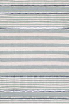 #DashAndAlbert Beckham Stripe Light Blue Indoor/Outdoor Rug 6' x 9'$298.00