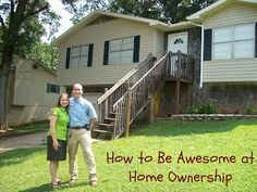 Home Ownership:  The ups and downs. (Funny!)