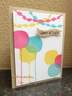 Stampin Utopia Voor het bestellen van Stampin Up scrapbook en kaarten materialen: Crazy for Cas Balloons