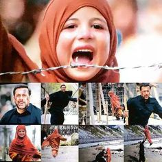 Heart touching seen from one of my Salmankhan movie i. e Bajrangi Bhijan