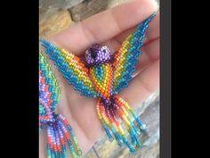 Seed Bead Patterns, Beaded Jewelry Patterns, Beading Patterns, Crochet Earrings Pattern, Bead Crochet, Jewelry Making Tutorials, Beading Tutorials, Pony Bead Projects, Seed Bead Flowers