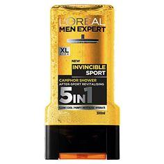 From 1.50:L'oreal Men Expert Invincible Sport Shower Gel 300 Ml