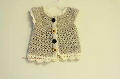 Ravelry: Crochet Popcorn Stitch Sweater pattern by Dewdrops Designs