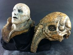 Prometheus Alien Full Size Space Jockey Bio Helmet Prop | eBay