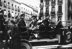 Detenidos en la manifestación del 1 de Mayo. 1934