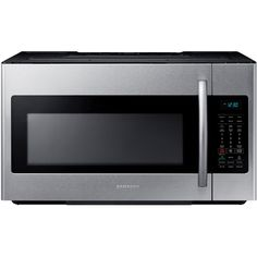 Samsung 30 in. W 1.8 cu. ft. Over the Range Microwave in Stainless Steel with Sensor Cooking