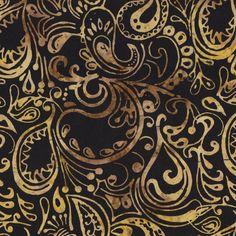 Tonga Madrid Paisley Batik - Marble | Fabric Depot