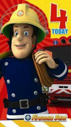 Fireman Sam Age 4