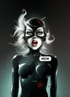 Catwoman (the Burton-esque version).