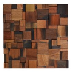 HomeTileDesign: Wood Mosaic - Aurora