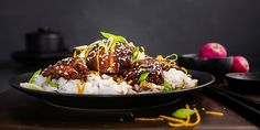 Dinner Side Dishes, Dinner Sides, Main Dishes, Sticky Chicken, Glazed Chicken, Kos, Bun Cha, Asian Cooking, Other Recipes