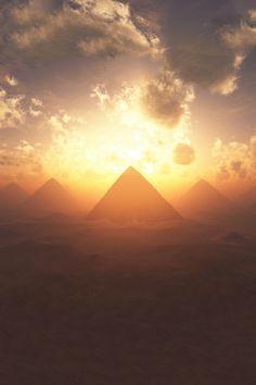Life is Beautiful - Sunrise over Giza Pyramids Life Is Beautiful, Beautiful Places, Beautiful Pictures, Beautiful Sunrise, Pyramids Of Giza, Giza Egypt, Egyptian Art, Luxor, Ancient Egypt