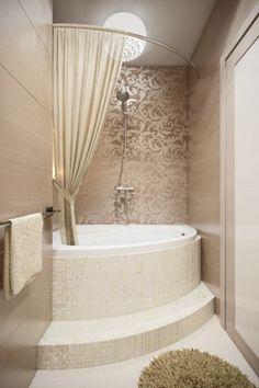 Проект: Шоколадная ванная — Федорова Екатерина 35 KVADRATOV — MyHome.ru