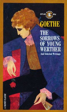 The Sorrows of Young Werther lovely book cover art by albert pucci