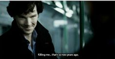 I love Sherlock's new sass :)