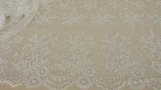 Hey, I found this really awesome Etsy listing at https://www.etsy.com/au/listing/196011076/ivory-lace-fabric-by-the-yard-french