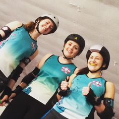 Soon to be TV stars for BBC sport #mmrarecoming #rollerderby by mmrarecoming