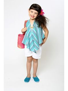 Vest Top - Teal/Silver Stripe Print – Mixed Up Clothing