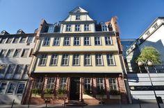Goethe: Frankfurter Goethe-Haus, Frankfurt Ale, Mansions, House Styles, Home Decor, Decoration Home, Manor Houses, Room Decor, Ale Beer, Villas