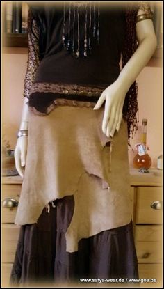 zipfelrock mit spitzenborte Rock, Outfit, Skirts, Fashion, Leather, Middle Ages, Outfits, Moda, Skirt
